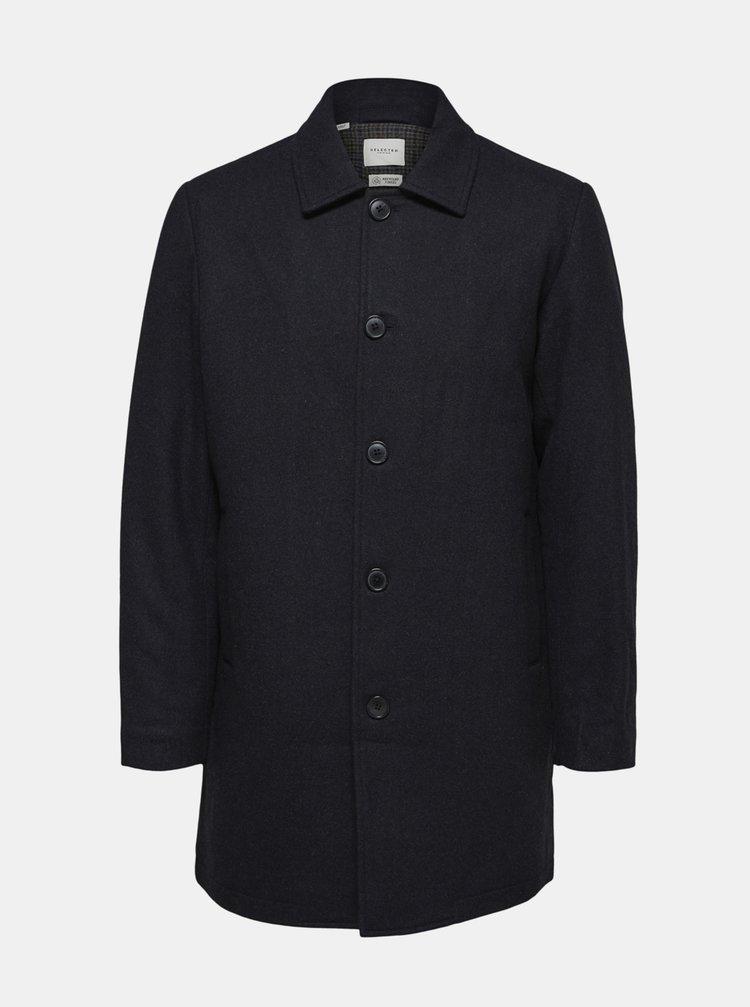 Paltoane pentru barbati Selected Homme - albastru inchis