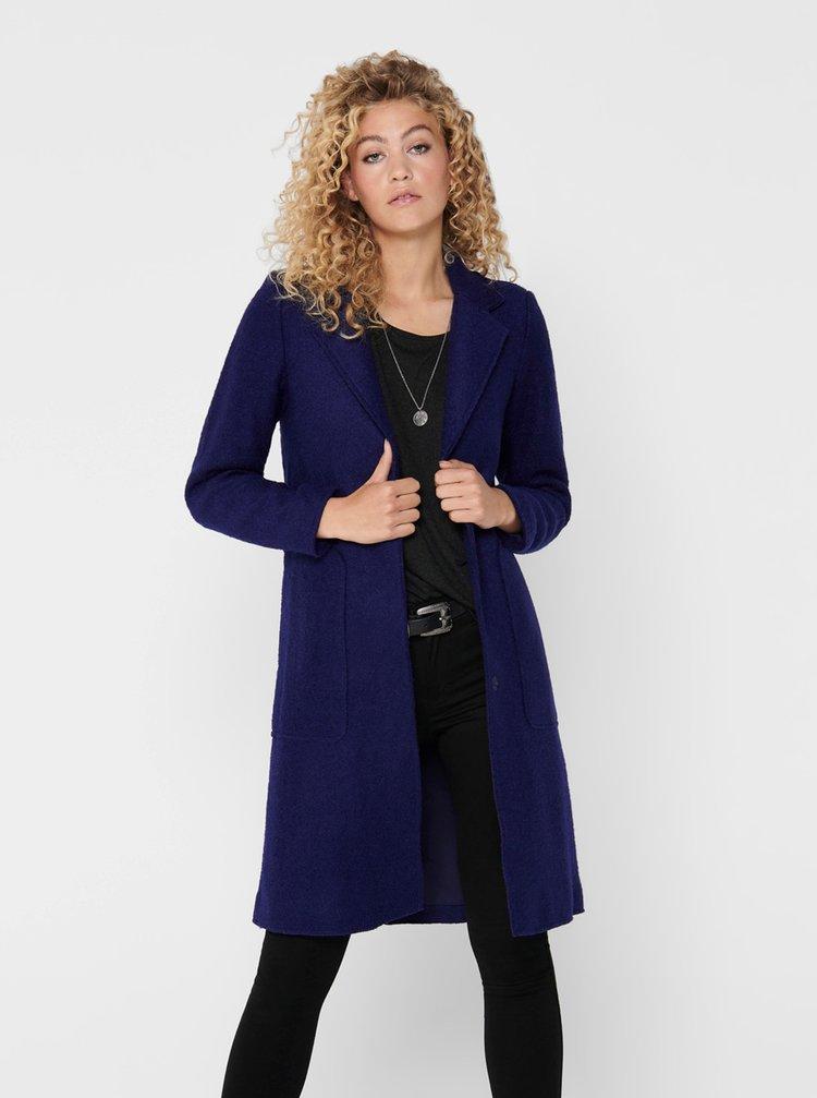 Paltoane  pentru femei ONLY - albastru inchis