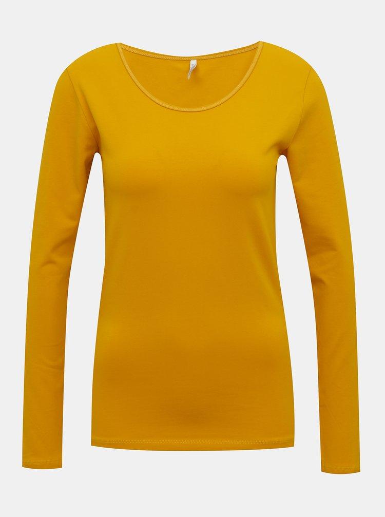 Bluze pentru femei ONLY - mustar