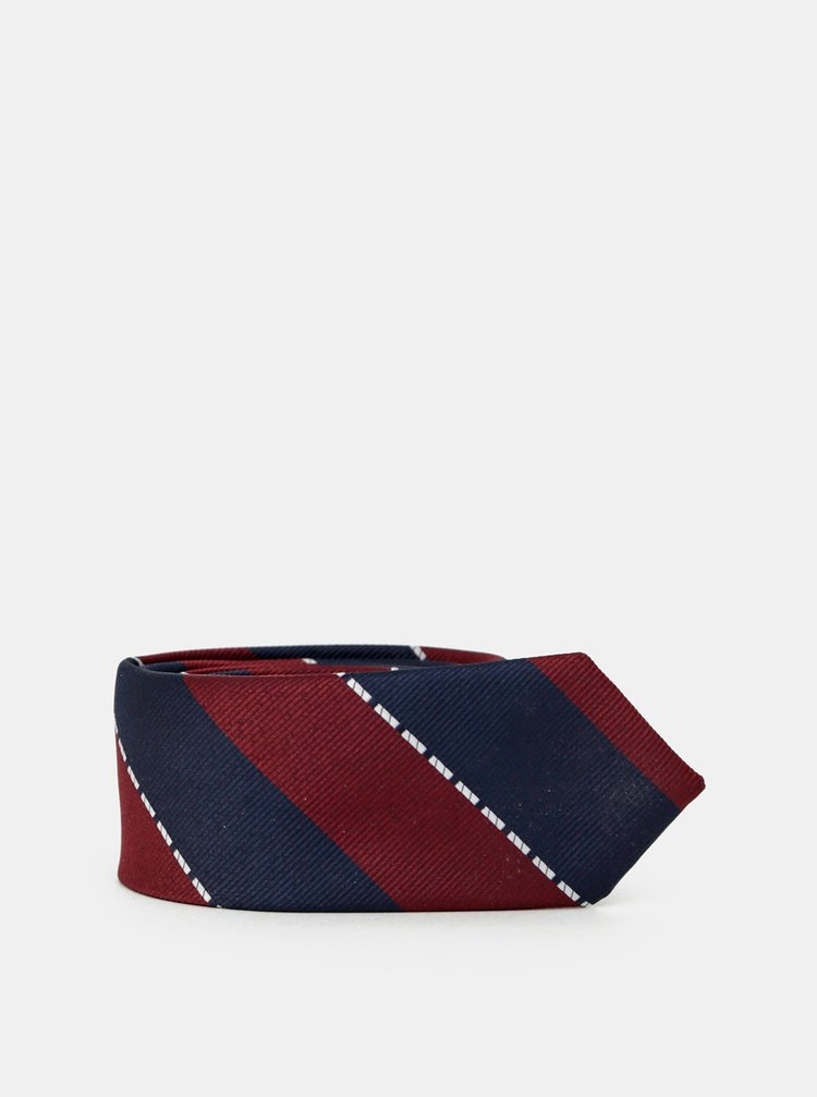 Cravate, ace de cravata pentru barbati Selected Homme - albastru inchis, bordo