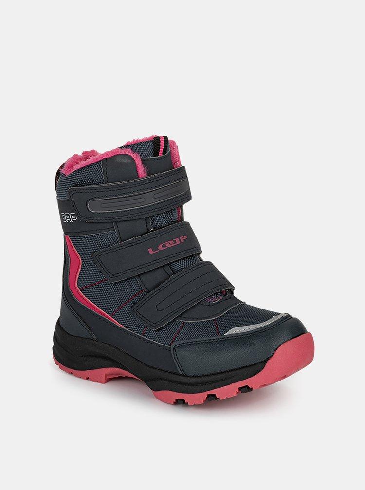 Černé holčičí zimní boty LOAP