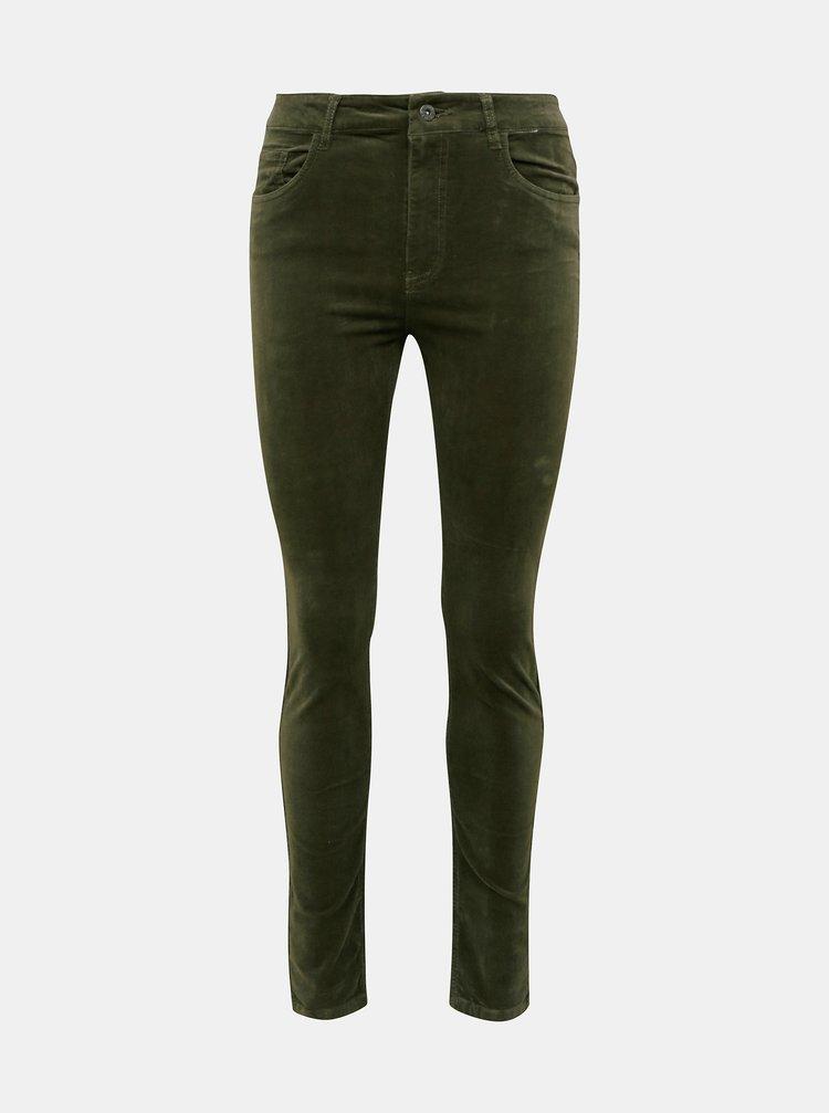 Pantaloni chino pentru femei Jacqueline de Yong - kaki