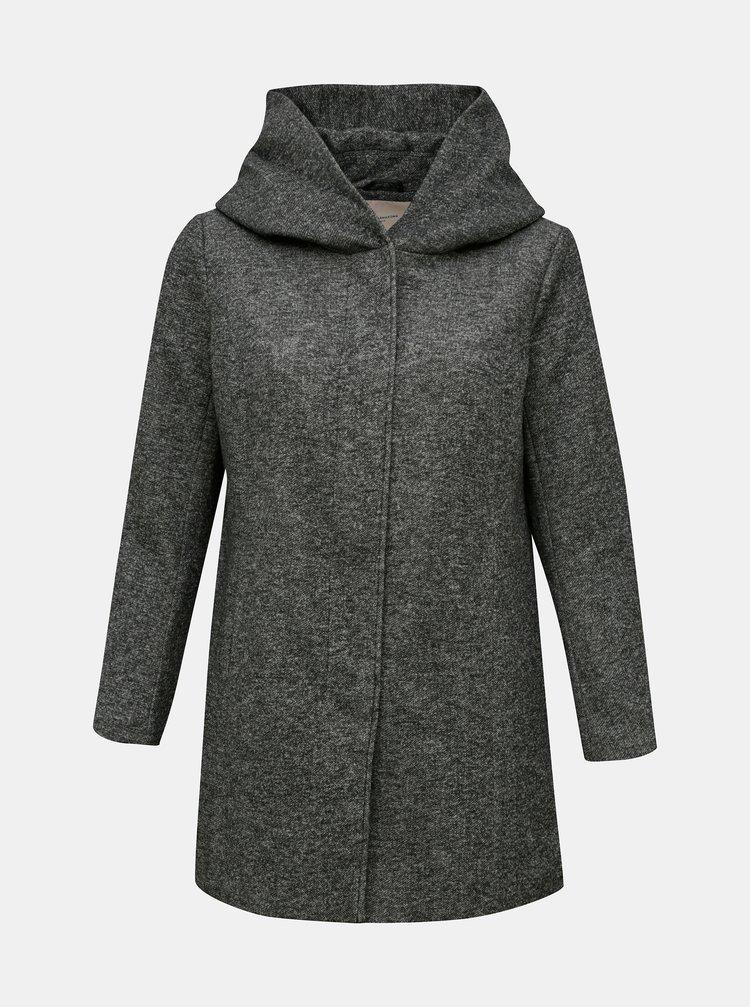 Šedý lehký kabát ONLY CARMAKOMA Sedona