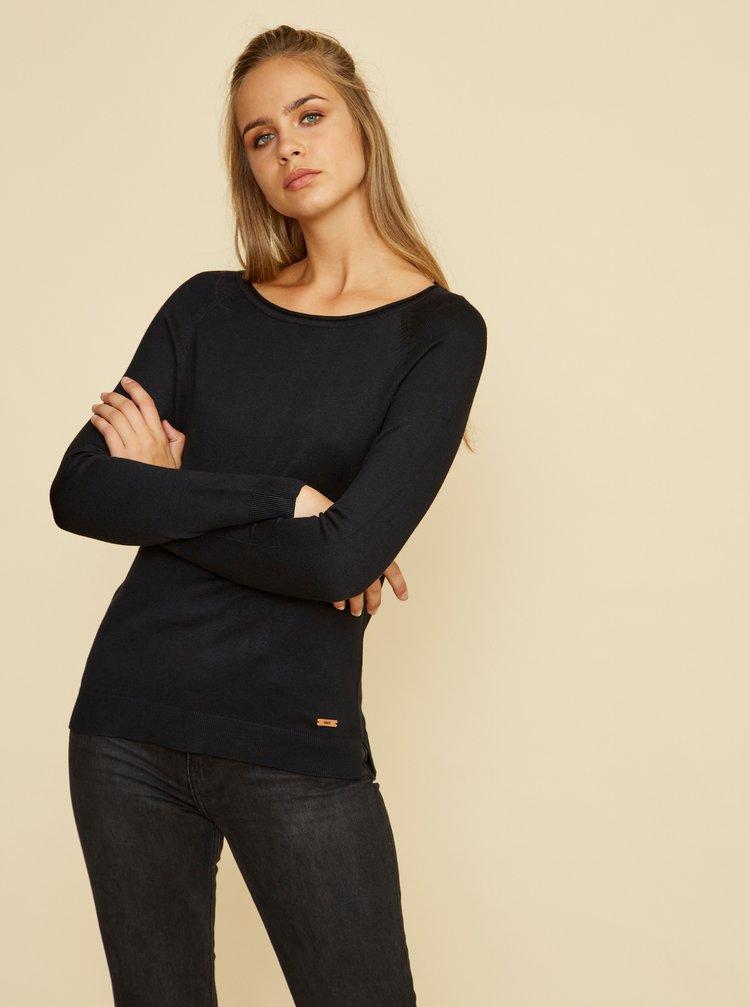 Černý dámský basic svetr ZOOT Baseline Ema