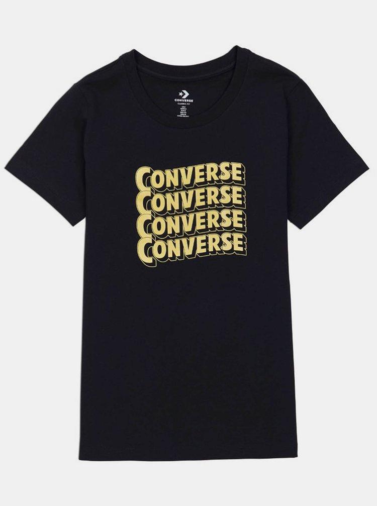 Tricouri pentru femei Converse - negru