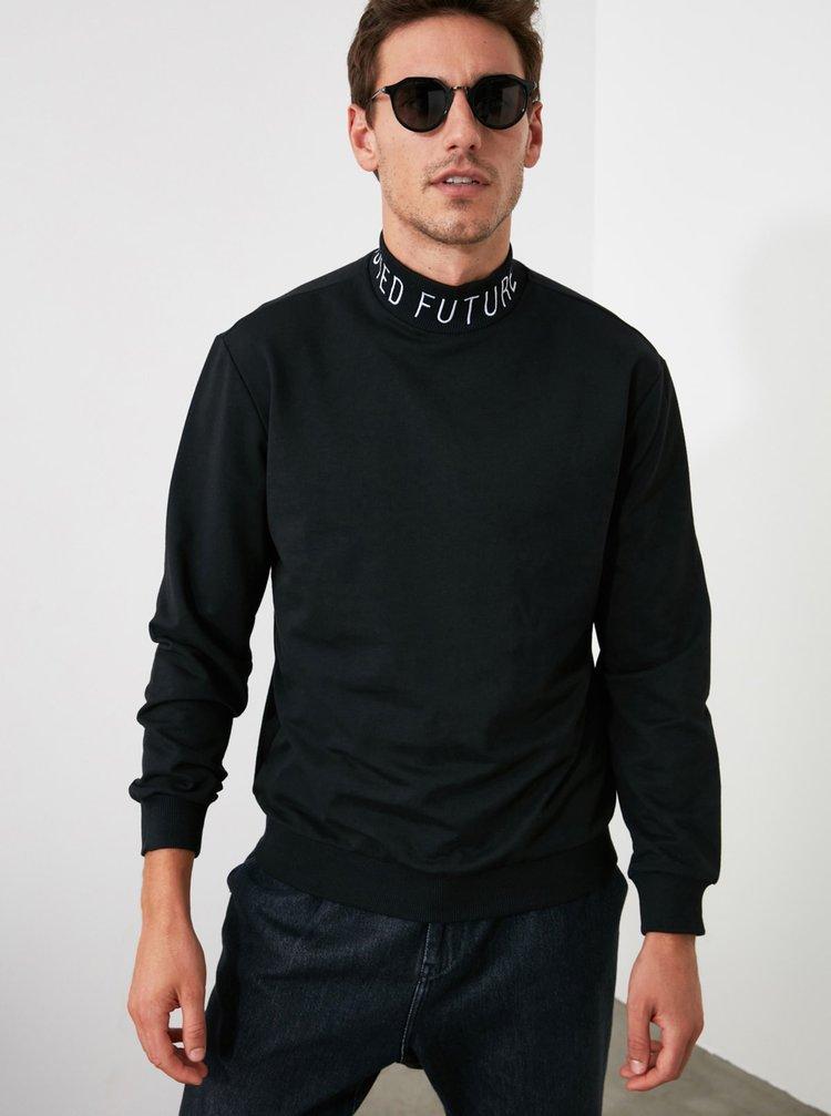 Pulovere pentru barbati Trendyol - negru