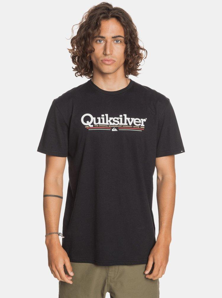 Černé tričko Quiksilver