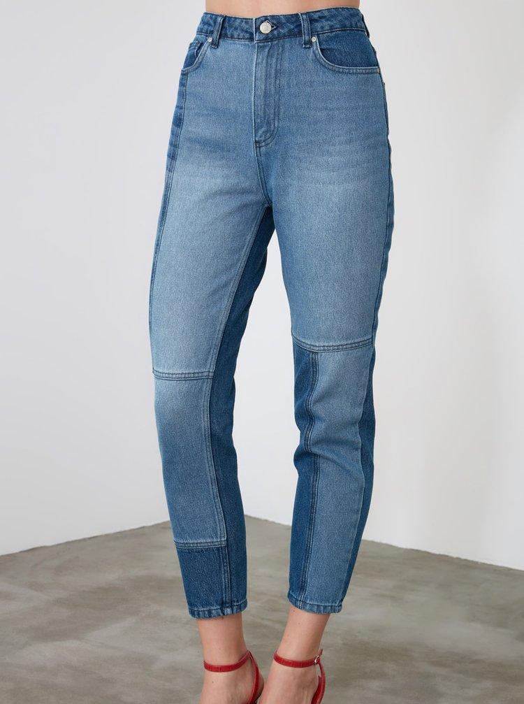 Skinny fit pentru femei Trendyol - albastru