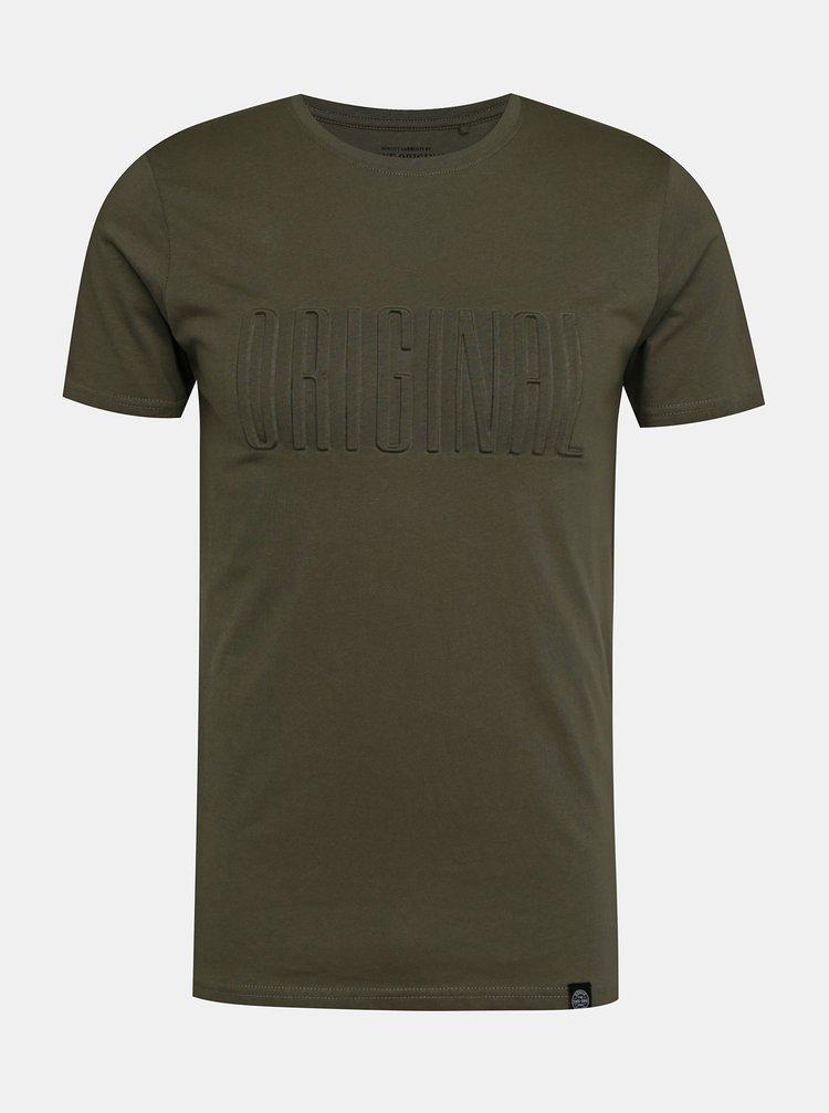 Khaki tričko Shine Original