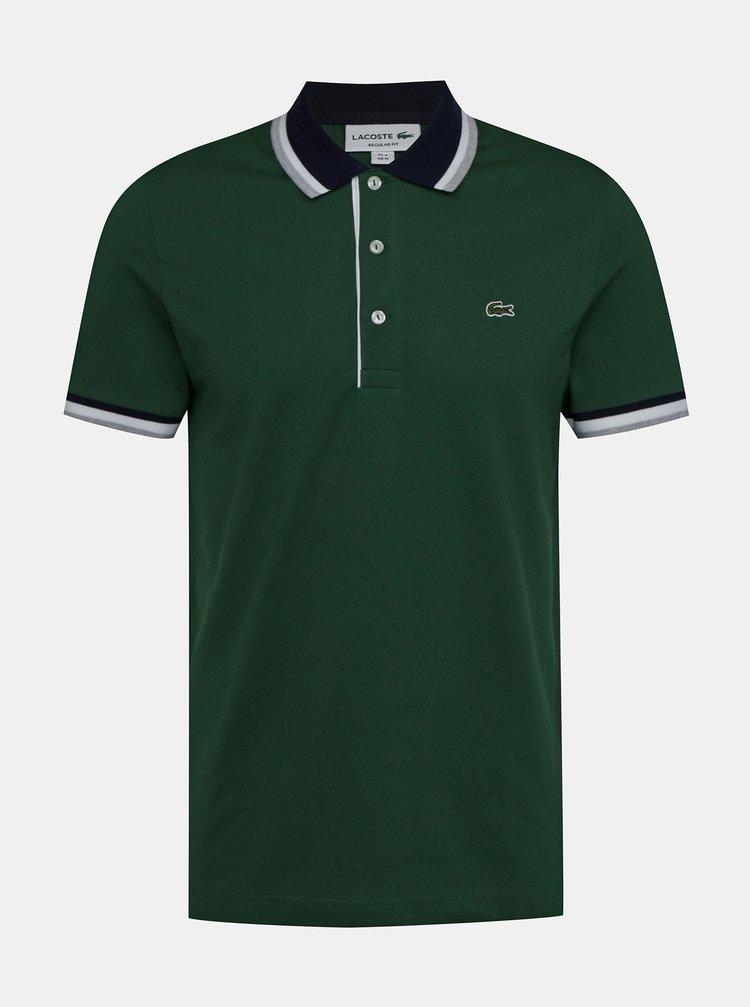 Zelené pánské polo tričko Lacoste