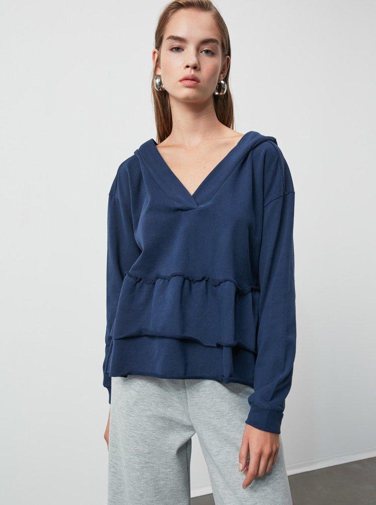 Hanorace pentru femei Trendyol - albastru