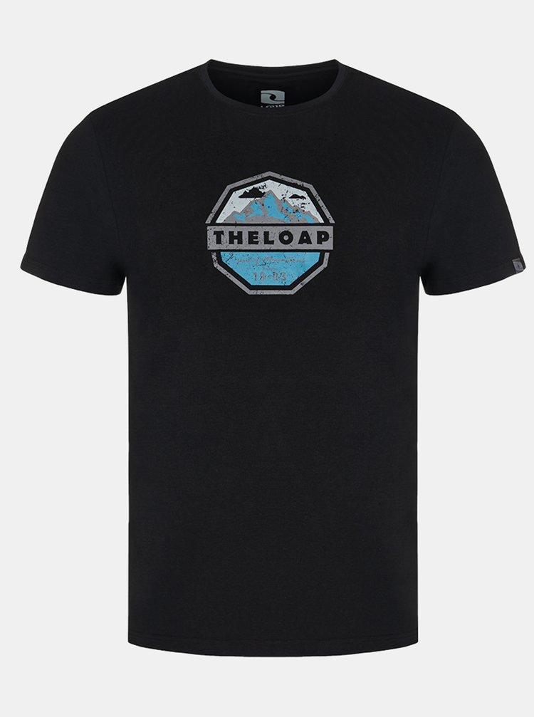 Černé pánské tričko LOAP Altair