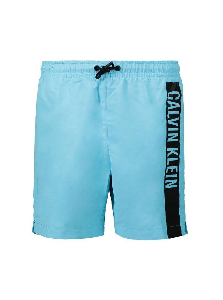 Calvin Klein modré chlapecké plavky Medium Drawstring
