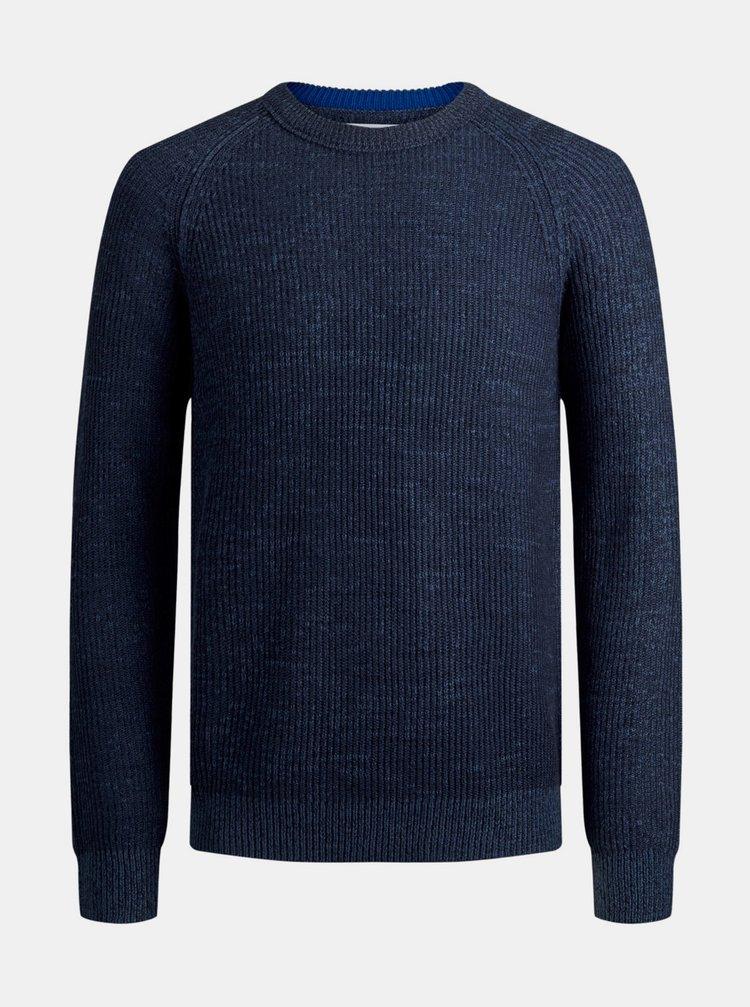 Tmavě modrý svetr Jack & Jones Annel