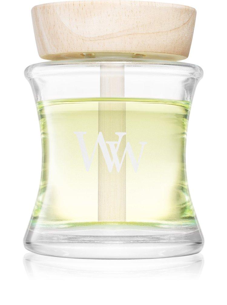 WoodWick aroma difuzér s dřevěným víčkem Cinnamon Chai