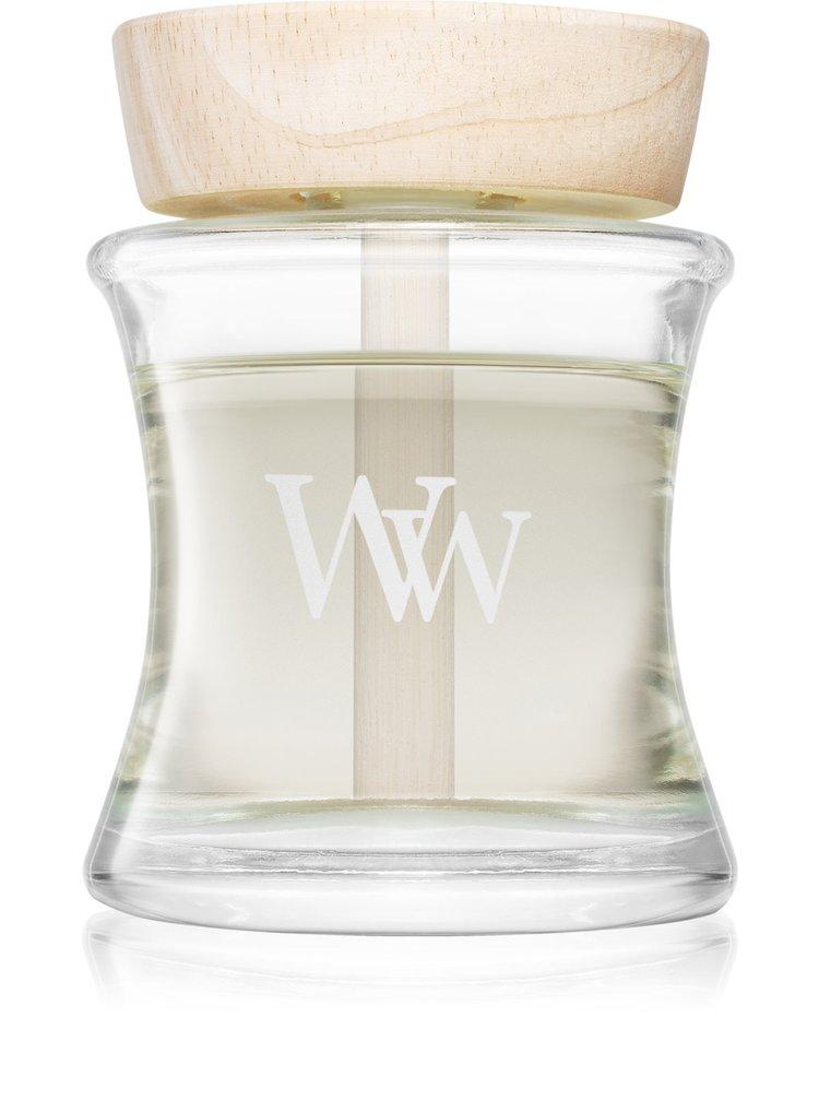 WoodWick aroma difuzér s dřevěným víčkem Linen