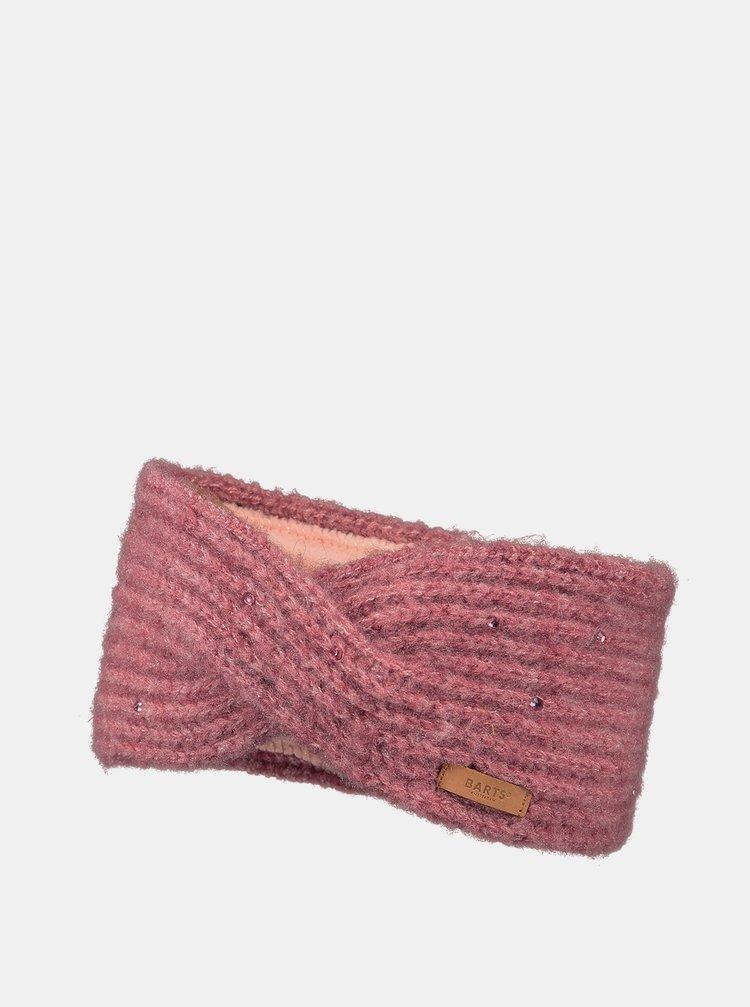 Růžová dámská čelenka Barts