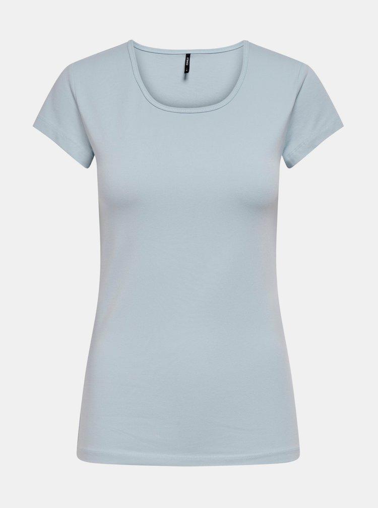 Topuri si tricouri pentru femei ONLY - albastru deschis