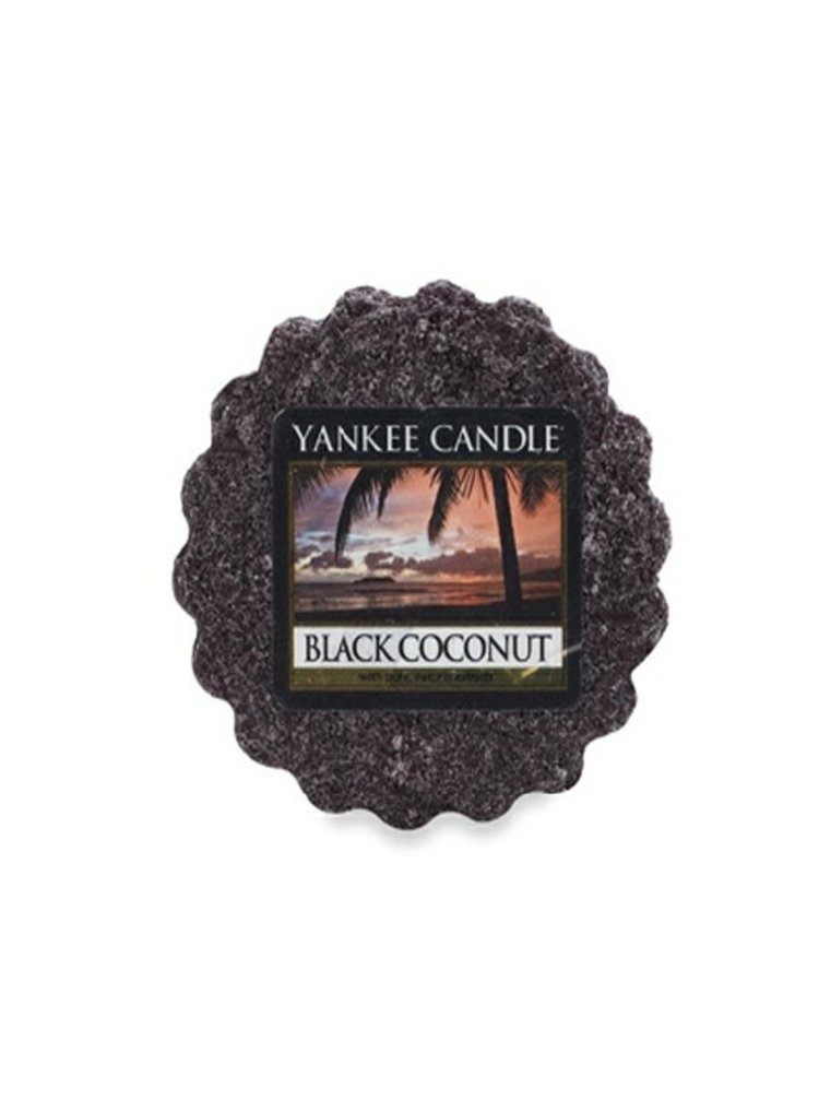 Yankee Candle vonný vosk do aroma lampy Black Coconut