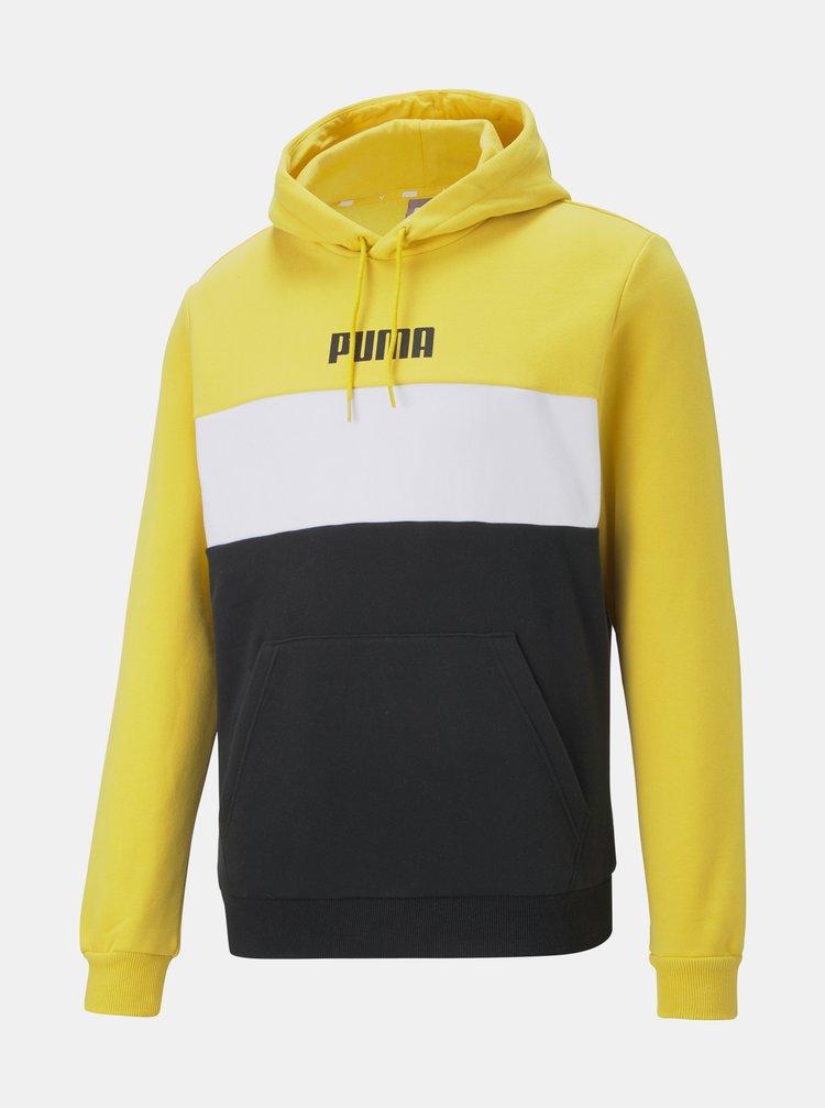 Jachete si tricouri pentru barbati Puma - galben, negru