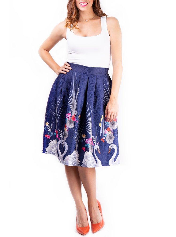 Simpo modrá sukně White Swan