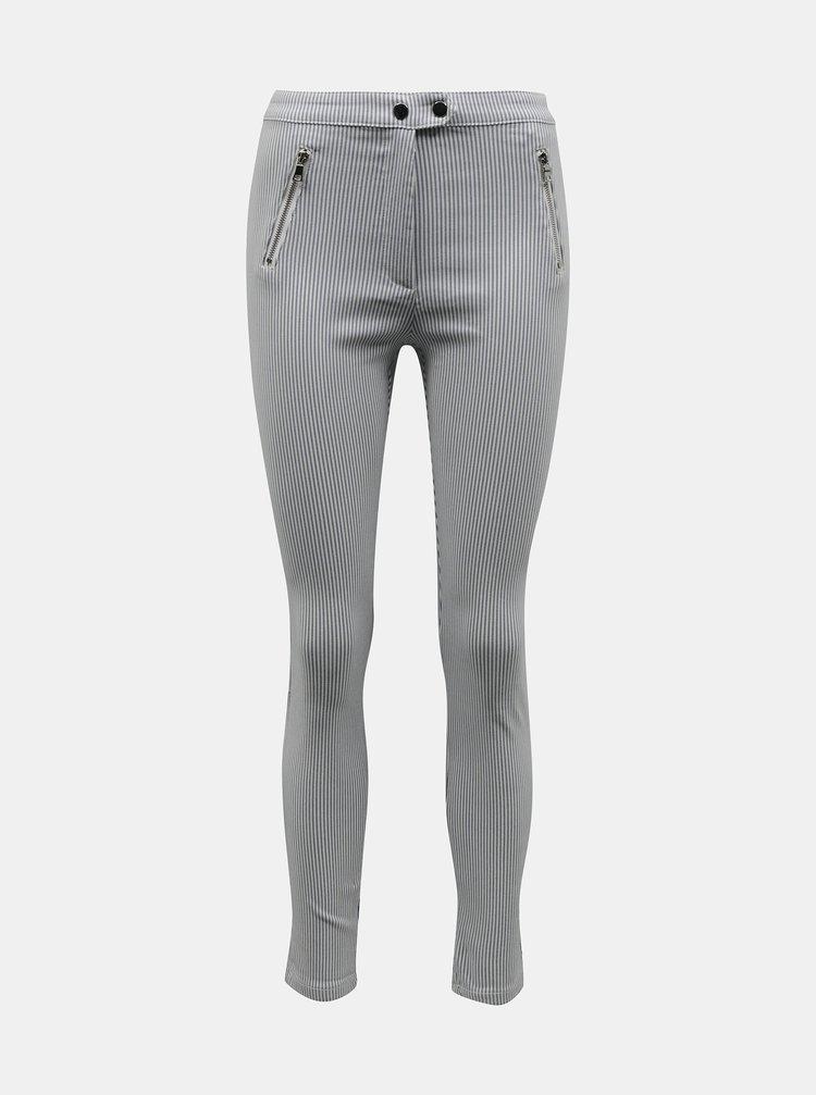 Pantaloni chino pentru femei TALLY WEiJL - gri deschis