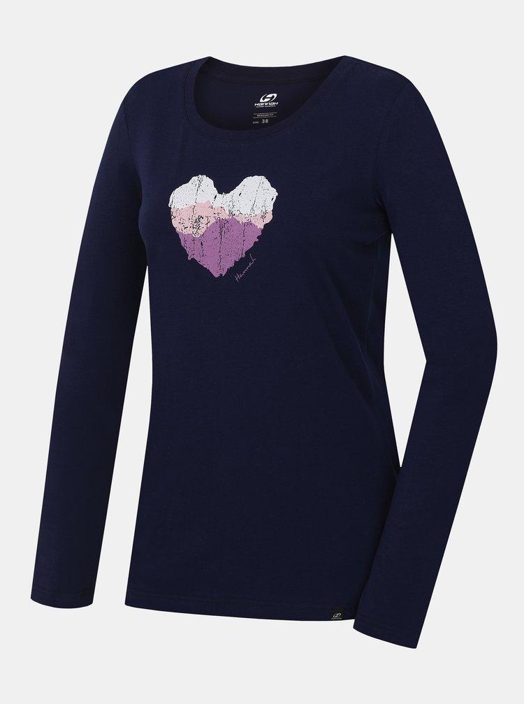 Topuri si tricouri pentru femei Hannah - albastru inchis
