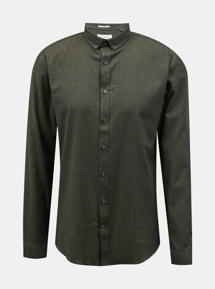 Khaki pánská košile Lindbergh