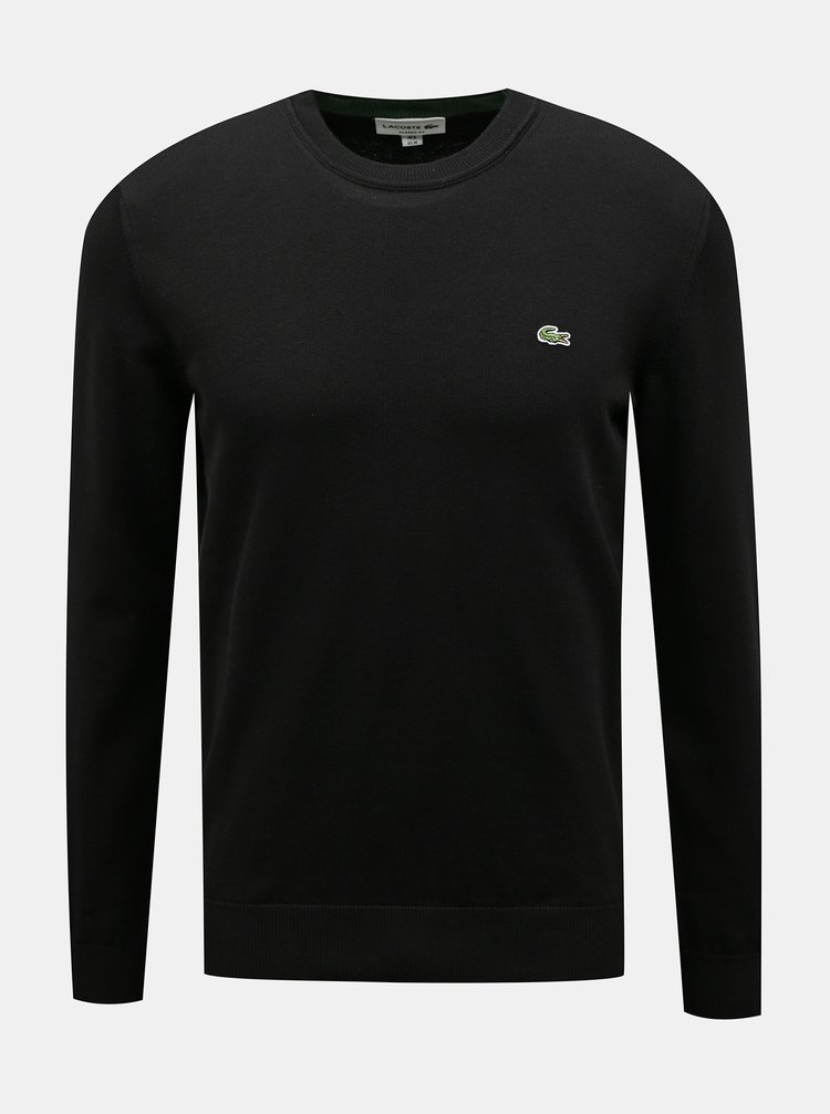 Černý pánský svetr Lacoste