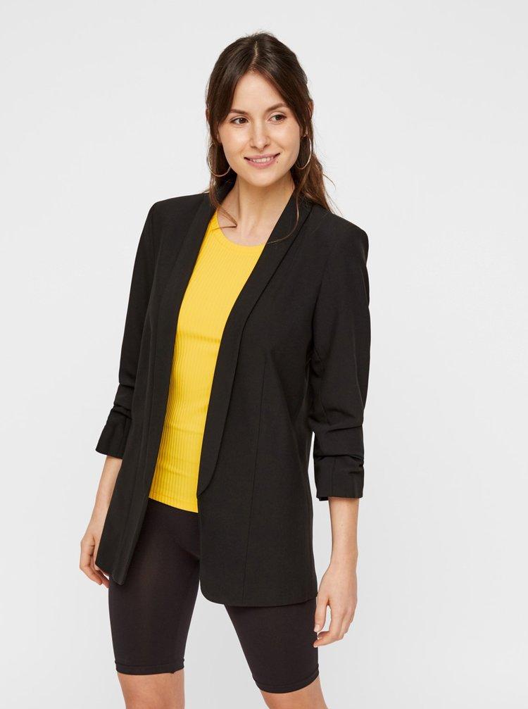 Sacouri si blazere pentru femei Pieces - negru