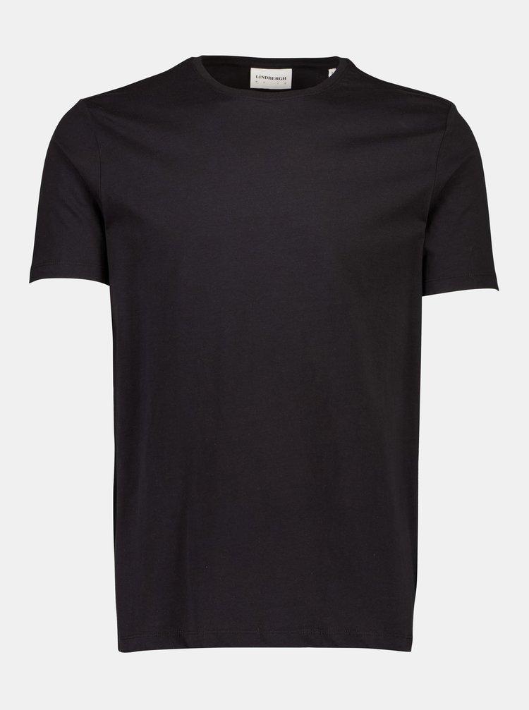 Černé basic tričko Lindbergh