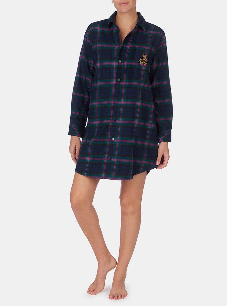 Camasi de noapte pentru femei Lauren Ralph Lauren - albastru, verde
