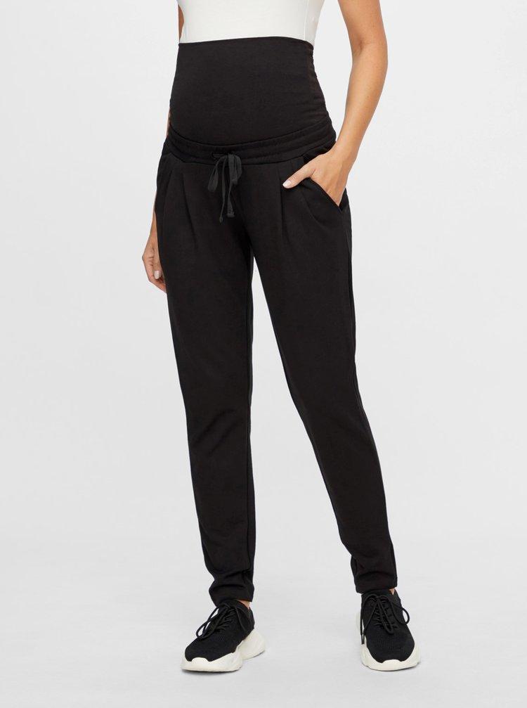 Pantaloni sport pentru femei Mama.licious - negru