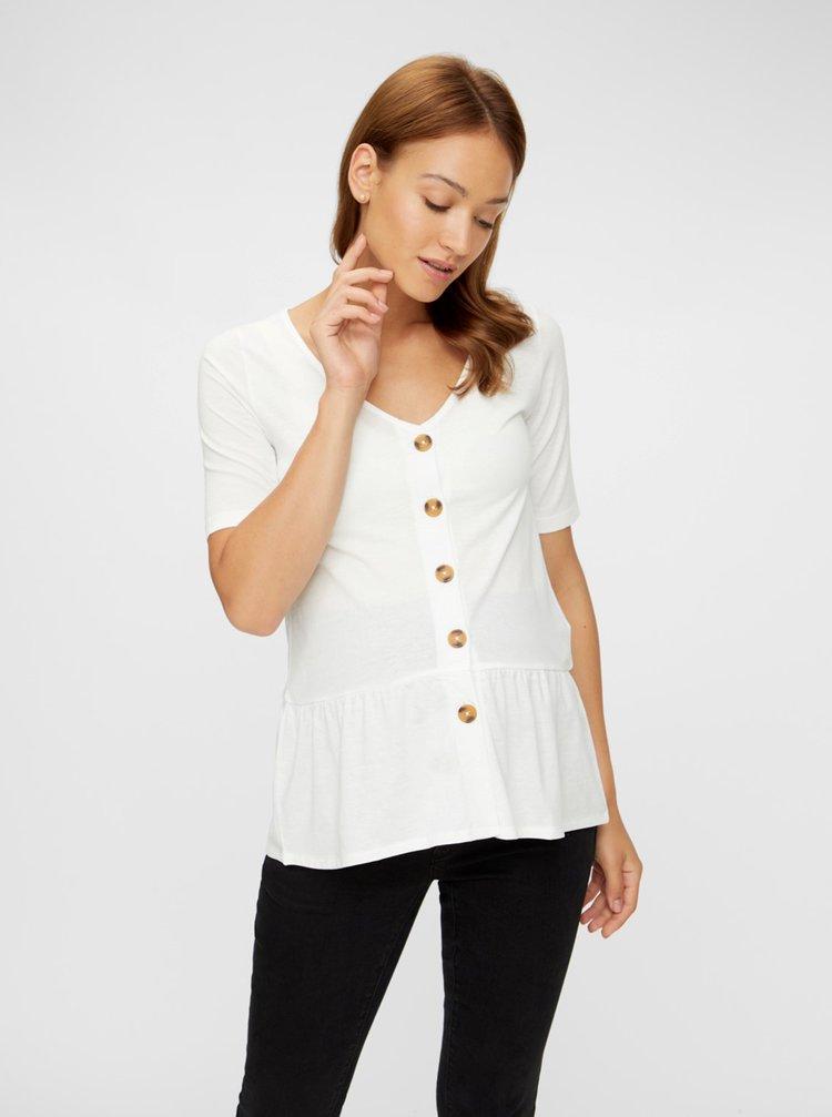 Tricouri pentru femei Mama.licious - alb