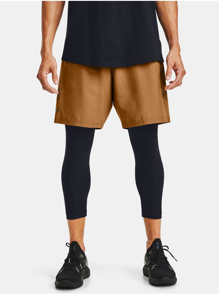 Kraťasy Under Armour Woven Graphic Shorts - žlutá