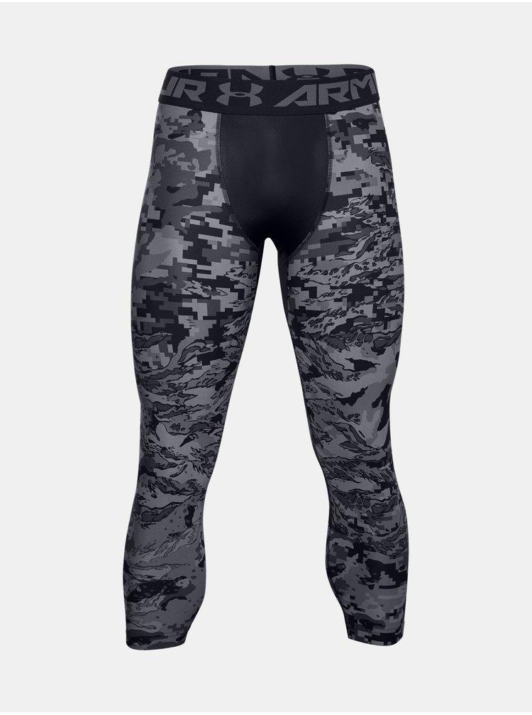 Legíny Under Armour UA HG 3/4 Print Leggings-BLK