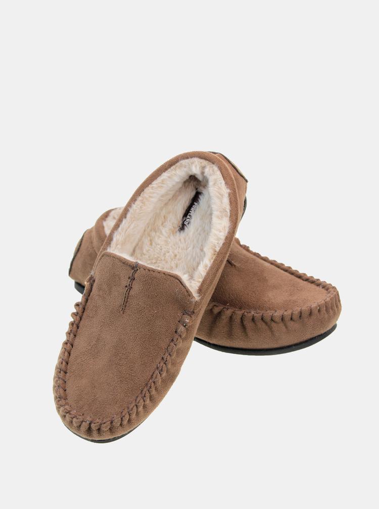 Pantofi si mocasini pentru barbati Something Special - maro