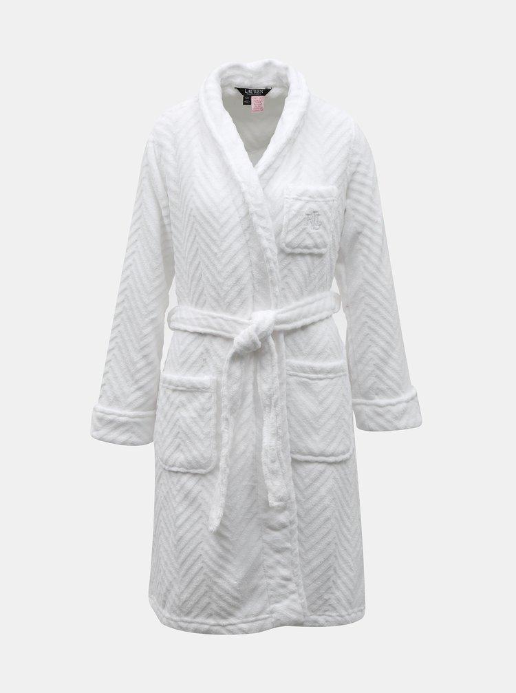 Halate de baie pentru femei Lauren Ralph Lauren - alb