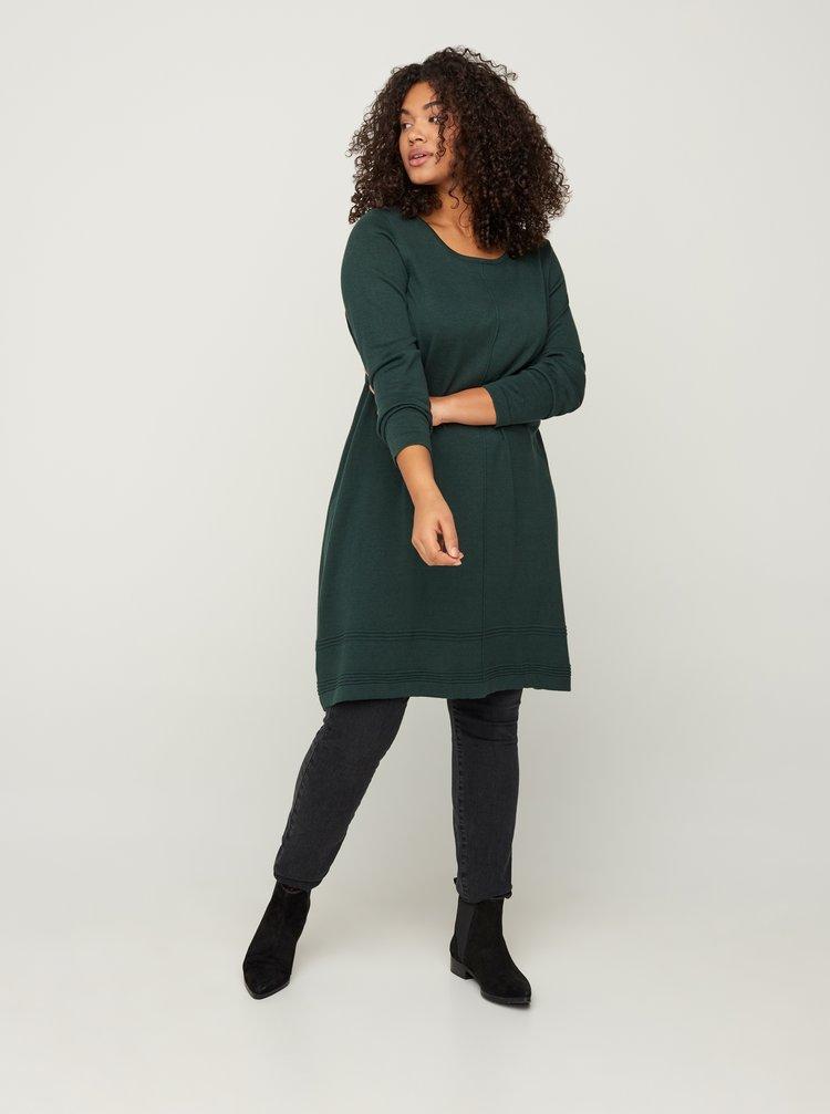 Zelené šaty Zizzi