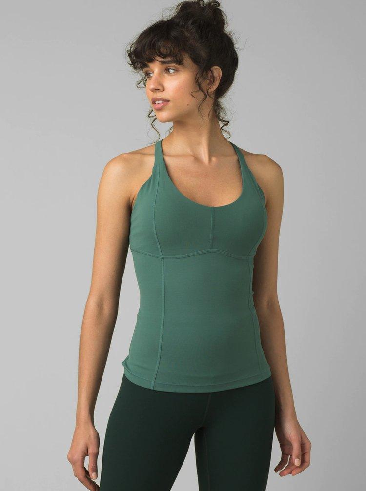 Topuri si tricouri pentru femei prAna - verde