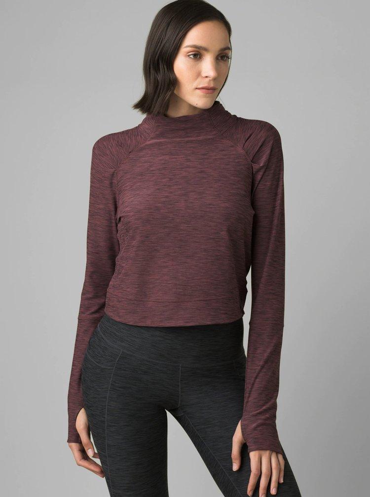 Topuri si tricouri pentru femei prAna - bordo