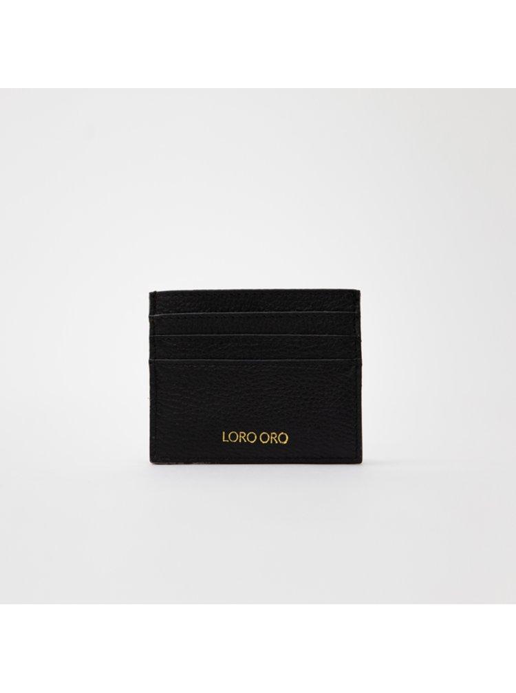 Černý Vizitkář Loro Oro Nero