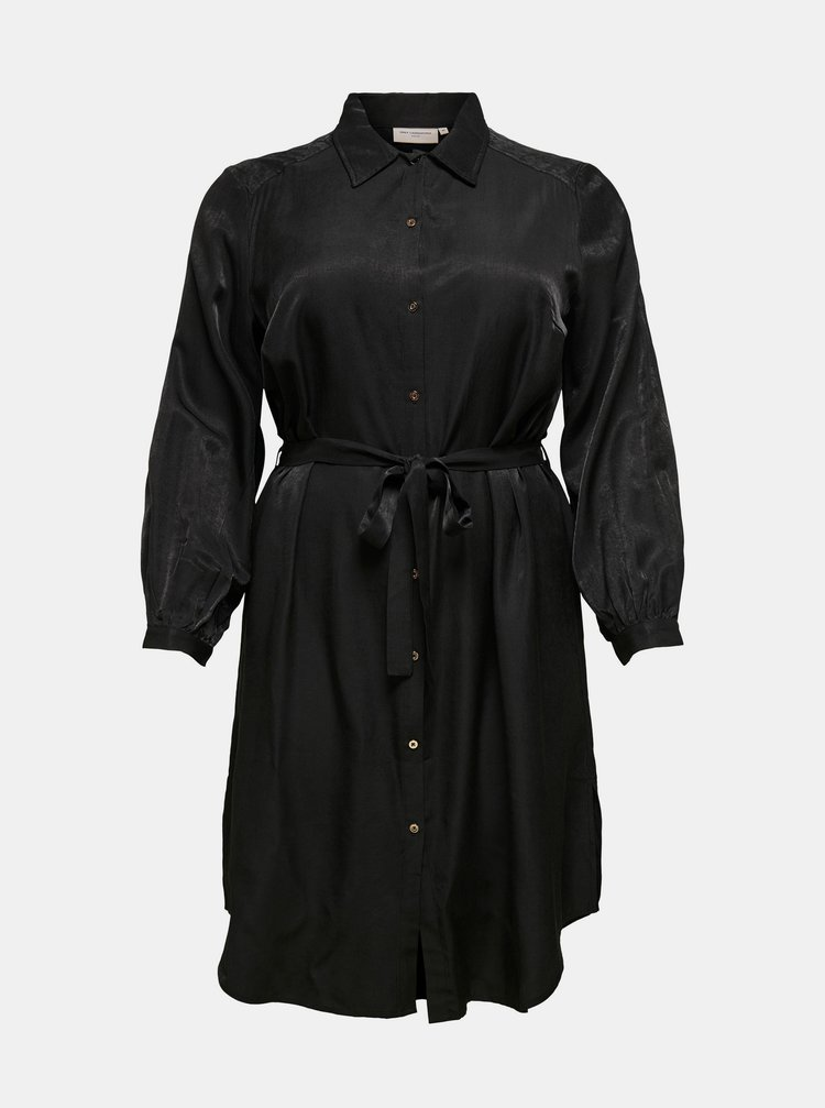 Rochii casual pentru femei ONLY CARMAKOMA - negru