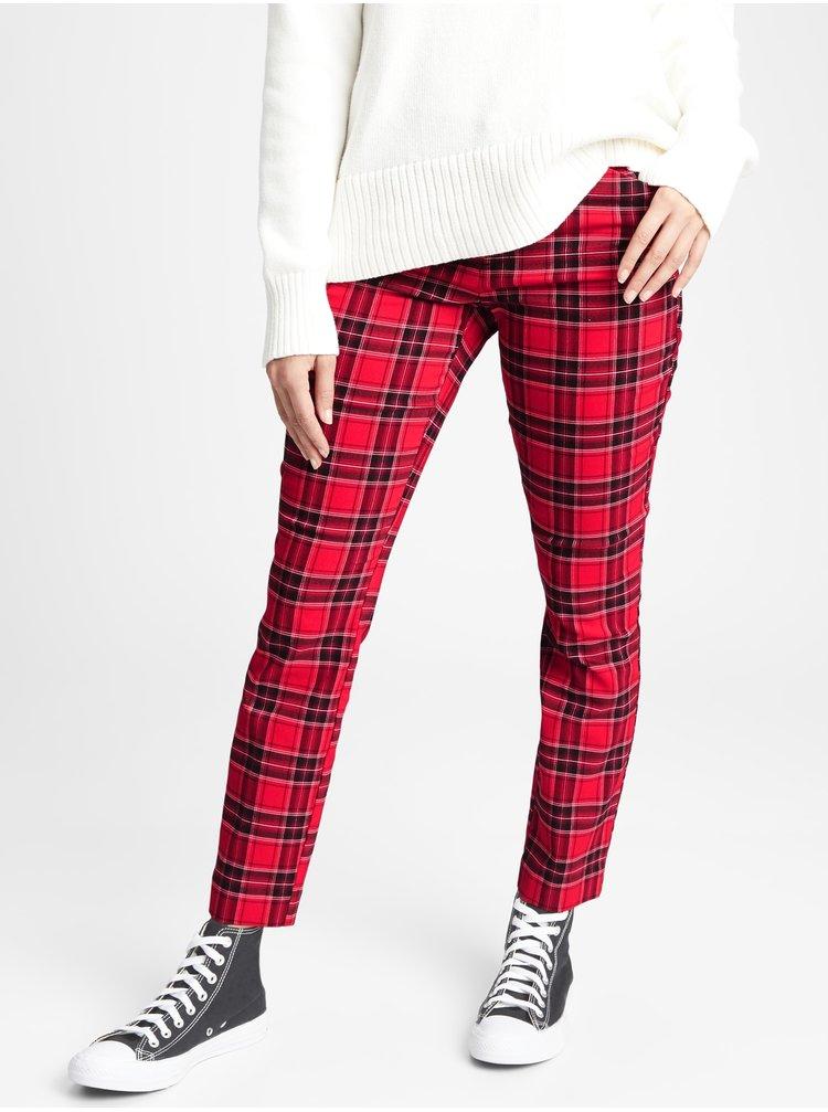 Červené dámské kalhoty GAP