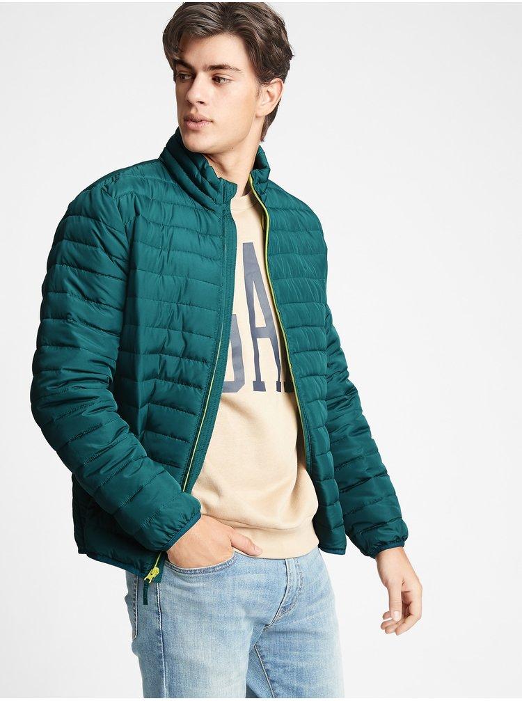 Zelená pánská bunda GAP
