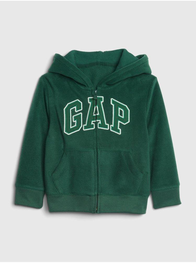 Zelená klučičí mikina GAP Logo