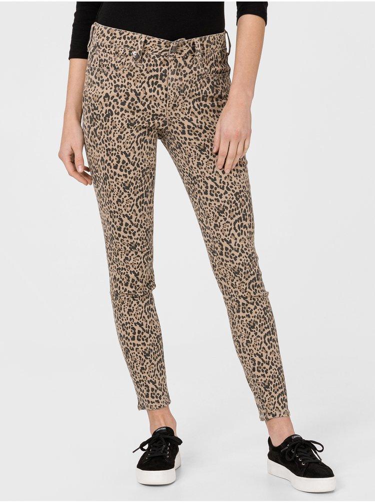 Hnědé dámské kalhoty GAP