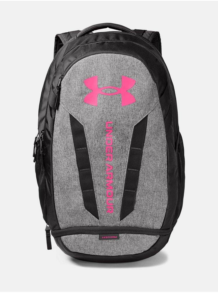 Šedý batoh Under Armour UA Hustle 5.0 Backpack