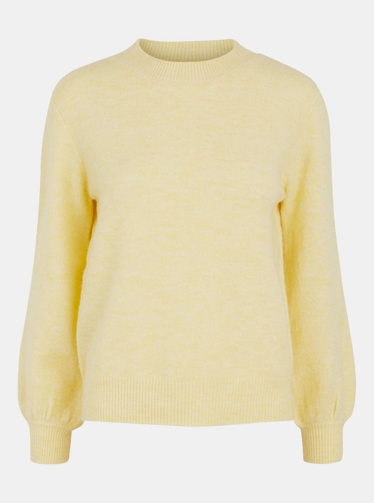 Pulovere pentru femei Pieces - galben