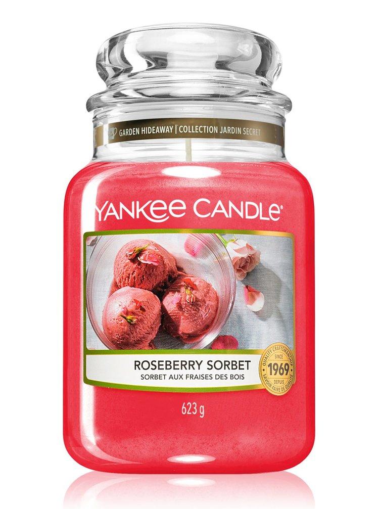 Yankee Candle vonná svíčka Roseberry Sorbet